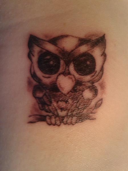 1.Tattoo Eule