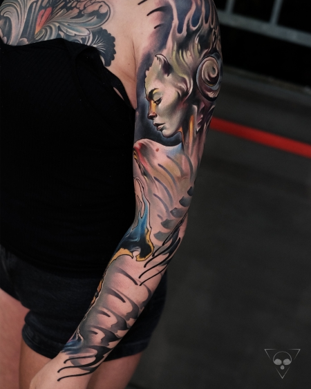 Surreal Sleeve / done in 3 days - Teil 1