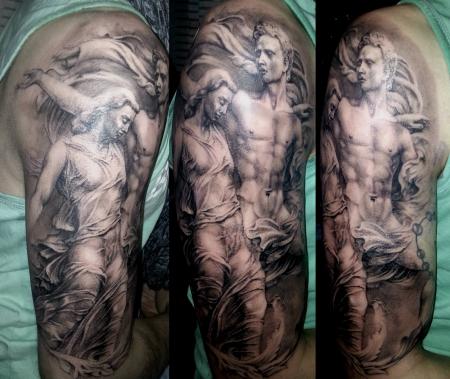 Die Legende von Orpheus und Eurydike