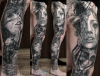 Big leg sleeve in progresss....