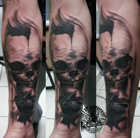 Schnecke und Skull Raphael Kieserling