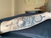 Sonne Wolken Mond Tattoo