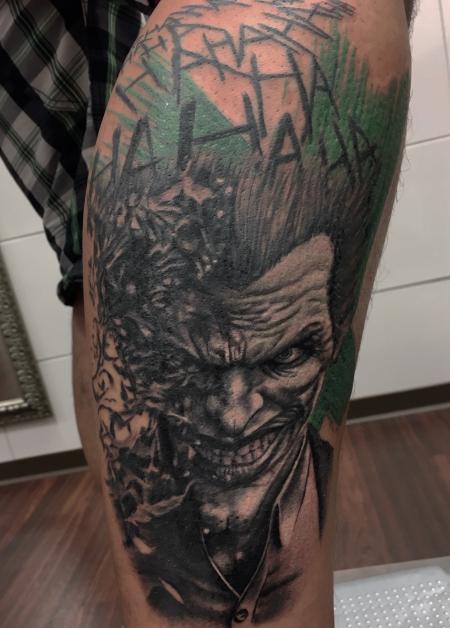 Joker / Batmann Tattoo