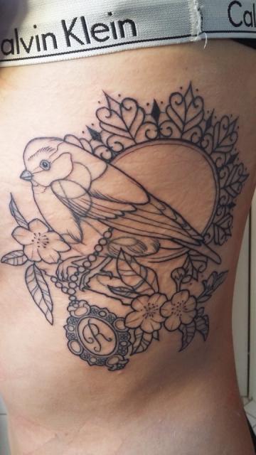 Vogel Mandala