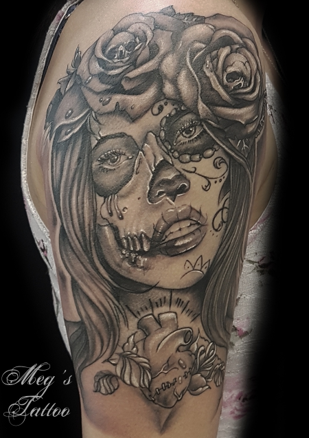 tattoos zum stichwort catrina tattoo lass deine tattoos bewerten. Black Bedroom Furniture Sets. Home Design Ideas