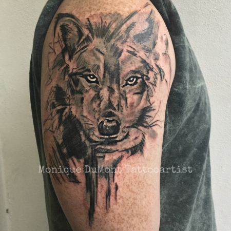 missteriousfrommars schibble grunge wolf tattoos von. Black Bedroom Furniture Sets. Home Design Ideas