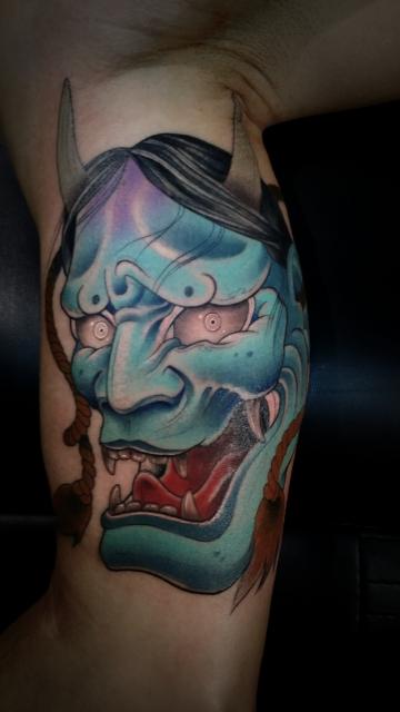 hannya-Tattoo: Hannya