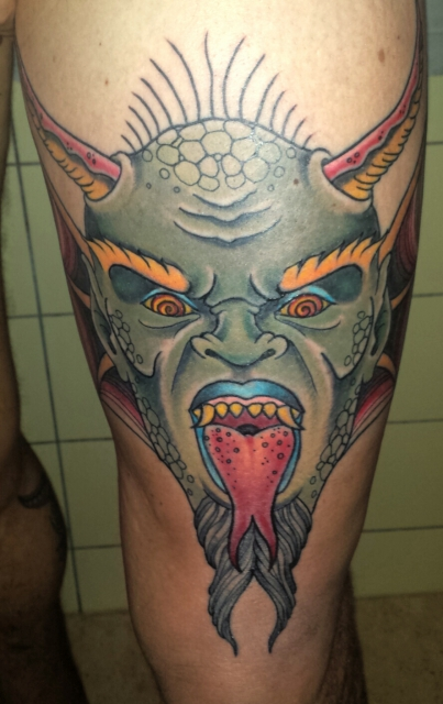 dämon-Tattoo: Dämon