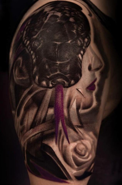 Tattoo done by Kristina Lepa