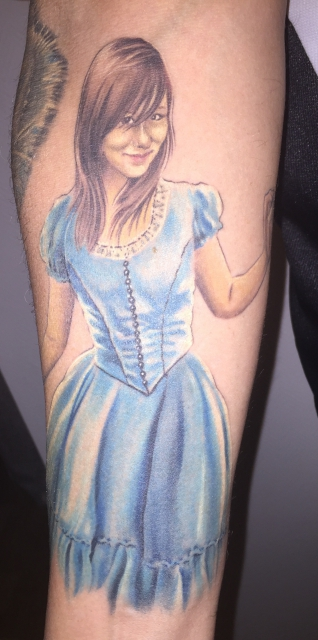alice-Tattoo: Alice :)