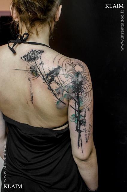 Abstrakt Schulter