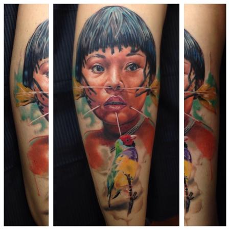 Indio Portrait
