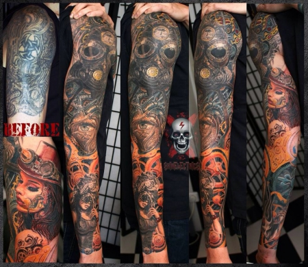 Steampunk Cover up