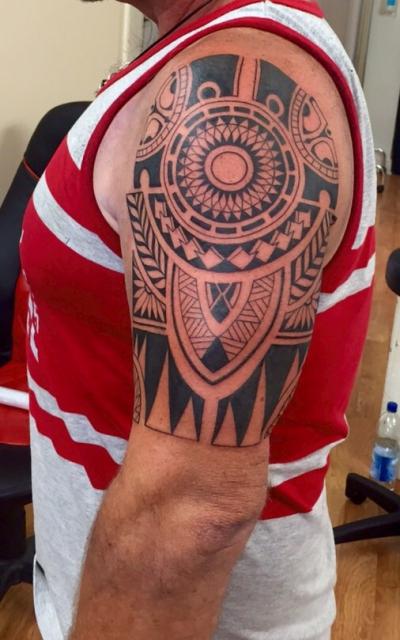 Maori-Tattoo: Maori  Tattoo von Luis Orellana