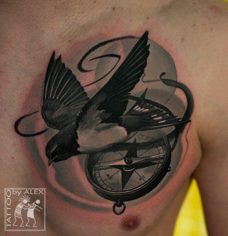 Tattoo by our guest Oleksandr Minec