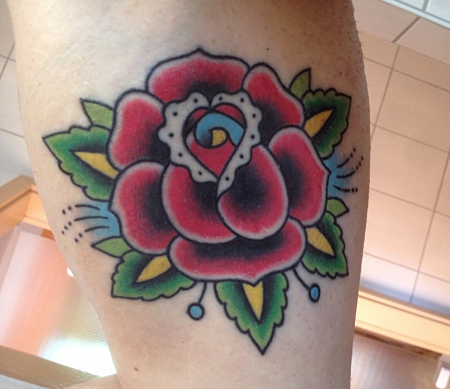 rose-Tattoo: Rose
