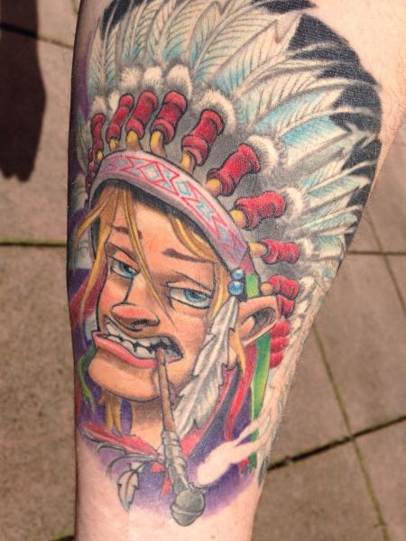 Mein Indianer -jetzt abgeheilt-