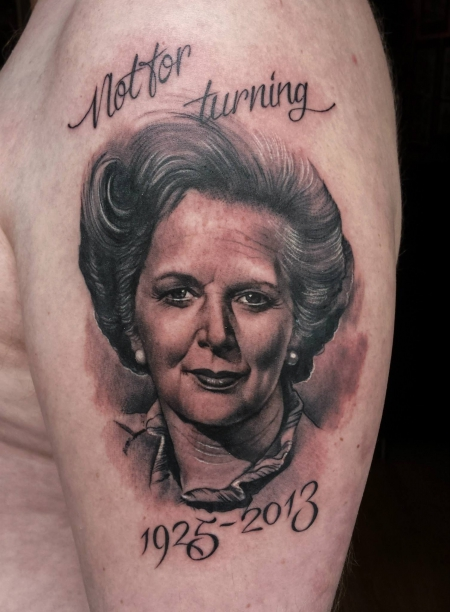 teufel-Tattoo: Iron Lady