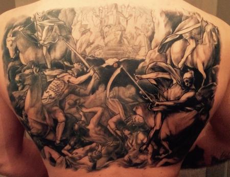 Appokalyptischen Reiter Julius Schnorr von Carolsfeld