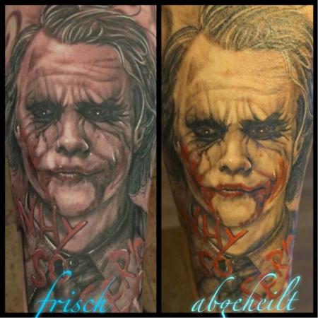 """Joker Why so Serious    """"frisch und abgeheilt"""""""