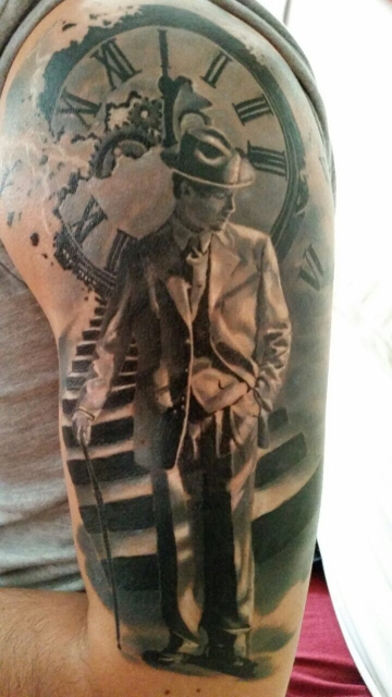 Dachdecker logo tattoo  Beste Oberarm-Tattoos | Tattoo-Bewertung.de | Lass Deine Tattoos ...