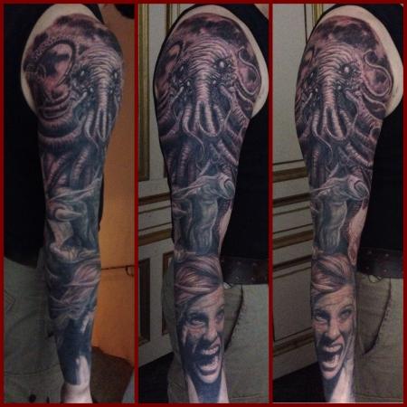 Cthuluh sleeve