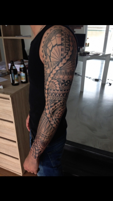 Samoan Tribel sleeve