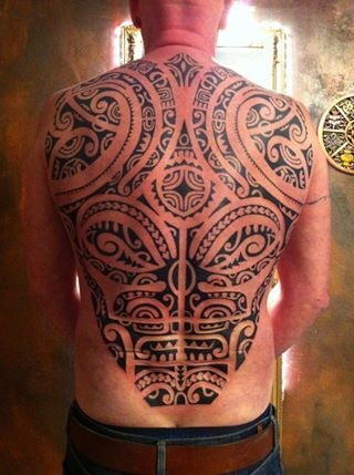 Tribal tattoo, polynesian tattoo, marquesian tattoo, Tiki tattoo, tahiti tattoo