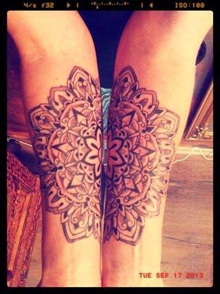 Mendhi tattoo, Ornament tattoo