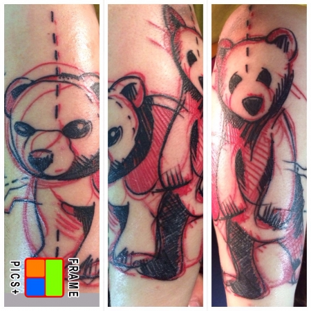 Sketch-Bären