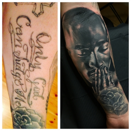 Coverup tupac