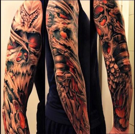 schmetterling-Tattoo: Und hier der zweite Versuch einen Schmetterling auf den Arm zu bekommen