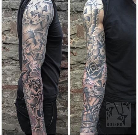 swen53 leben und tod tattoos von tattoo. Black Bedroom Furniture Sets. Home Design Ideas