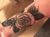Rose Unterarm