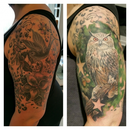 Eulen Cover up