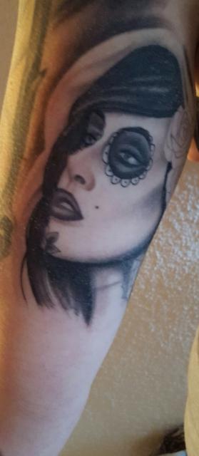 robnick jungfrau als catrina tattoos von tattoo. Black Bedroom Furniture Sets. Home Design Ideas
