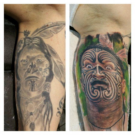 Maori Cover up