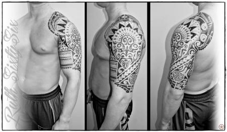 Maori-Tattoo: Maori