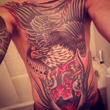 Den Adler auf der Brust, die Stadt im Herzen