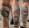 Tattoos Wade (vollständig verheilt)