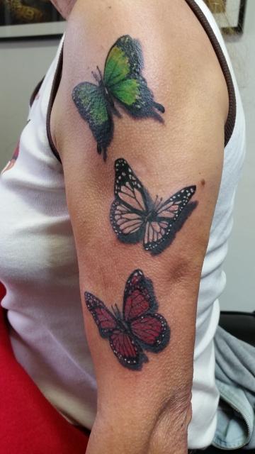 schmetterlinge-Tattoo: Schmetterlinge Italia