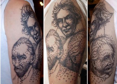 Portrait Beethoven, van Gogh, Einstein grafisch bzw. semi-realistic