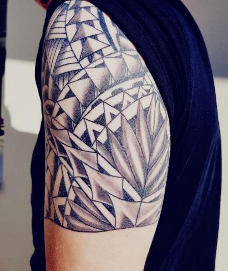 Mein neues Maori-Tattoo