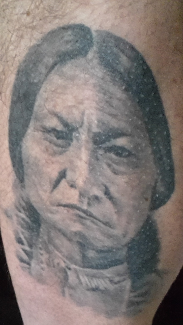 Indianer Häuptling  Sitting Bull