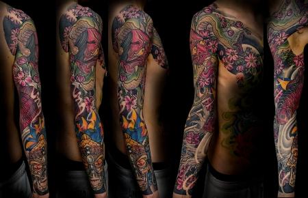 hannya-Tattoo: hebi hannya