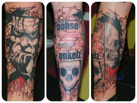 onkelz-Tattoo: Böhse Onkelz