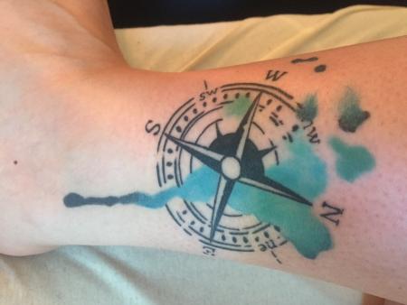 Kompas Watercolour Design