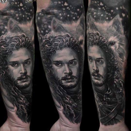 Game of Thrones Sleeve Part:Jon Snow