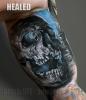 Healed tattoo