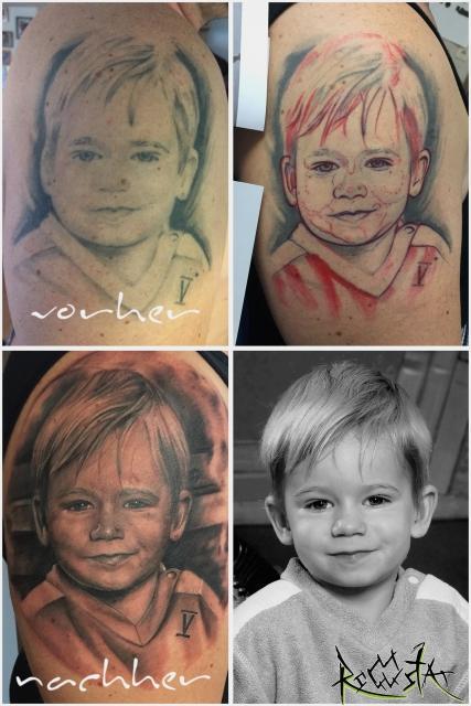 Portrait Cover Up